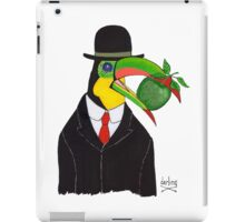 Toucan With Bowler Hat and Apple iPad Case/Skin
