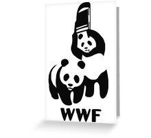 WWF Greeting Card