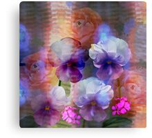 Paint me a garden Canvas Print