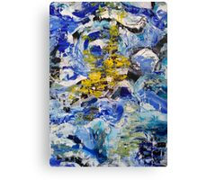 Abstract painting 11 Canvas Print