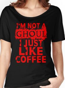 I just like coffee Women's Relaxed Fit T-Shirt