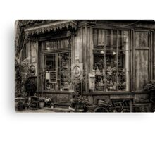 Cafe Laurence Canvas Print