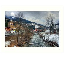 Saalbach, Austria Art Print