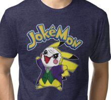 Funny Pokemon - Jokemon Tri-blend T-Shirt