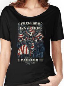 Veteran-Freedom Isn't Free Women's Relaxed Fit T-Shirt