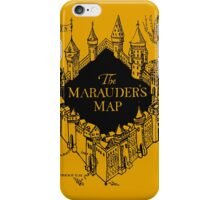 Marauder's Map Harry iPhone Case/Skin