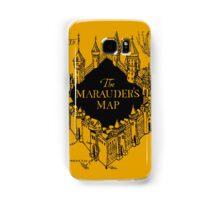 Marauder's Map Harry Samsung Galaxy Case/Skin