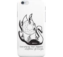 Swanfire - With Quote (Neal & Emma, Once Upon a Time) iPhone Case/Skin
