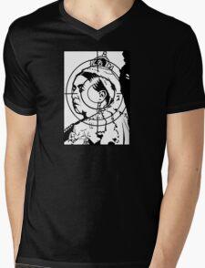 Black Archive #6 Mens V-Neck T-Shirt