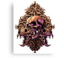 Skull Art Canvas Print