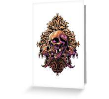 Skull Art Greeting Card