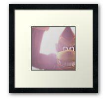 Donkey kong melee Framed Print