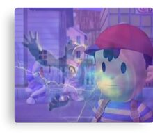 Ness, DK and ice climbers melee Canvas Print