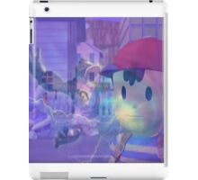 Ness, DK and ice climbers melee iPad Case/Skin