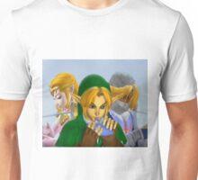 Zelda link and sheik melee Unisex T-Shirt