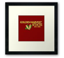 Golden Harvest State 3 Framed Print