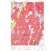 USGS TOPO Map New Jersey NJ Orange 254676 1955 24000 Photographic Print