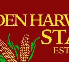 Golden Harvest State Sticker