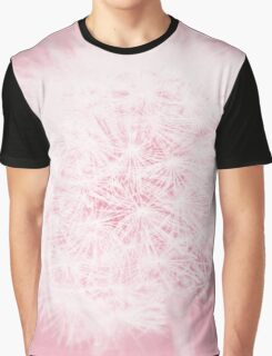Dandelion in Pink Graphic T-Shirt