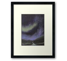 Star Path Framed Print