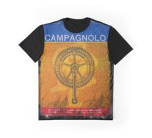 CAMPAGNOLO RECORD BICYCLE COMPONENTS ITALY Graphic T-Shirt