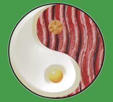 Breakfast Balance One Piece - Short Sleeve