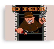 Rick Dangerous Title  Canvas Print