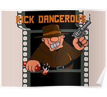 Rick Dangerous Title  Poster