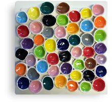 Ceramic bubbles Canvas Print