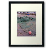 Evening Nets in Ullapool Framed Print