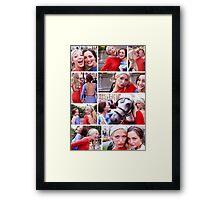 Blair & Serena - Gossip Girl Framed Print