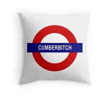 Cumberbitch Throw Pillow
