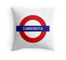 Cumberbitch Throw Pillow