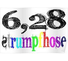 6,28 Strumpfhose Poster