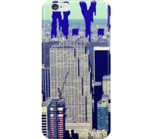 N.Y., empire state building iPhone Case/Skin