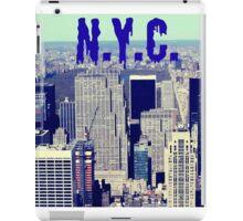 N.Y., empire state building iPad Case/Skin