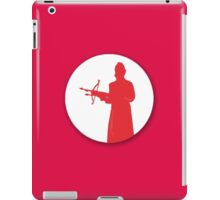 Slayer silhouette iPad Case/Skin