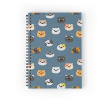 Neko Atsume Cats Spiral Notebook
