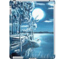 Nocturnal lagoon.. iPad Case/Skin