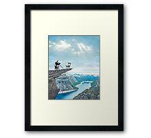 Panda-monium Framed Print