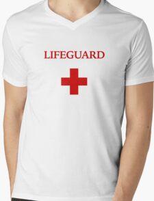 Lifeguard (1) Mens V-Neck T-Shirt