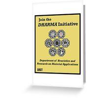 Join the DHARMA Initiative Print Greeting Card