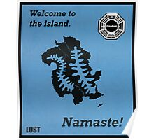 Welcome to the Island Print Poster