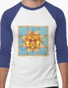 Sun Lion Men's Baseball ¾ T-Shirt