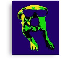 Groove Pooch Canvas Print