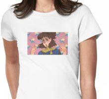 Doki Doki no Disco Womens Fitted T-Shirt