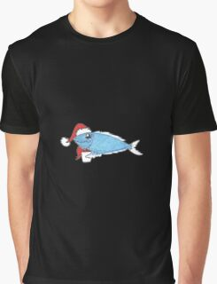 Holiday Fish Graphic T-Shirt