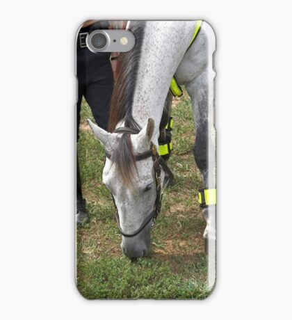 Police horse iPhone Case/Skin