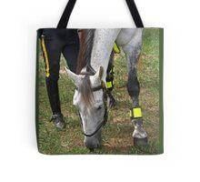 Police horse Tote Bag