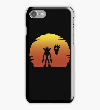 Crash on Sunset iPhone Case/Skin